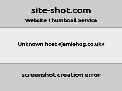 jamiehog.co.uk image