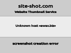 Скриншот для сайта awax.biz создается...