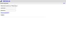 Скриншот для сайта del.icio.us создается...