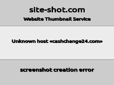 Скриншот для сайта Cashchange24 создается...