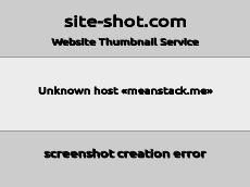 Скриншот для сайта meanstack.me создается...