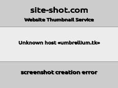Скриншот для сайта umbrellium.tk создается...