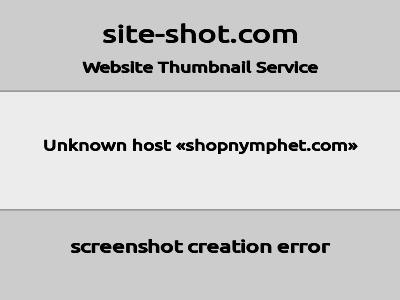shopnymphet.com image