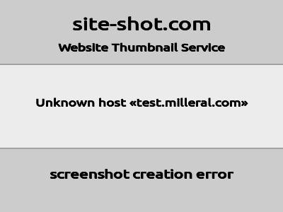test.milleral.com image