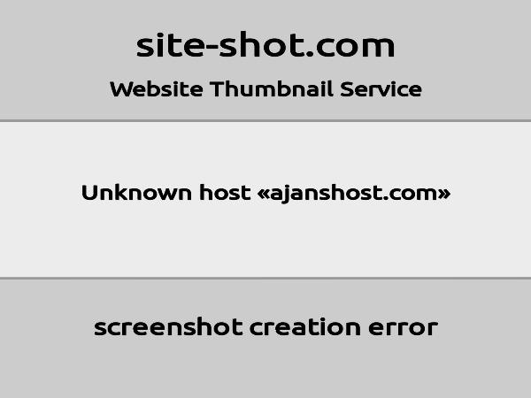 ajanshost.com