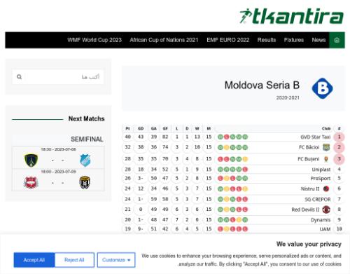 Moldova Seria B 2020-21
